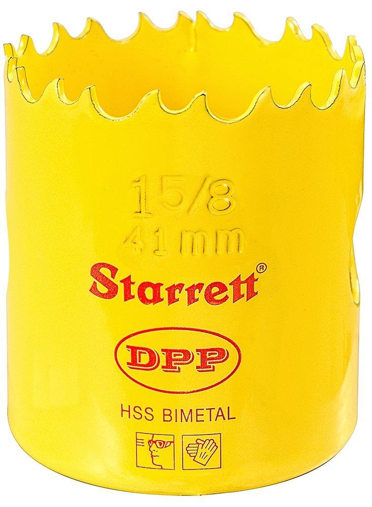 Starrett DH0034 Scie-cloche Bi-m/étal HSS 41 mm