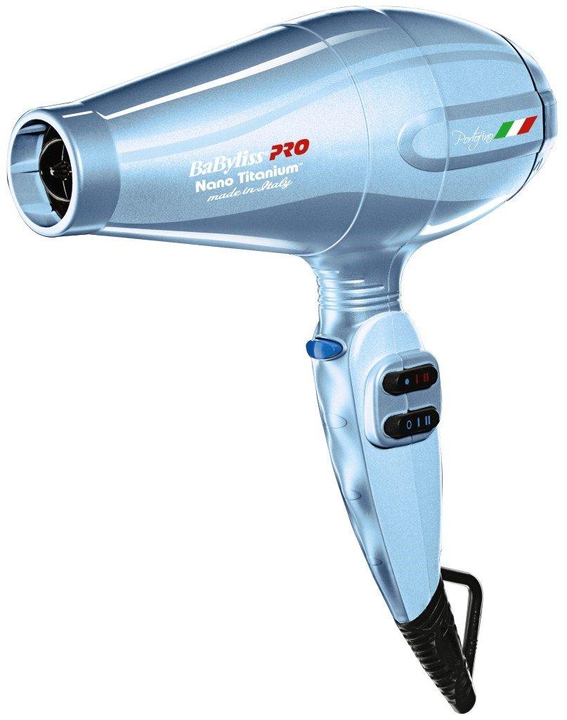 BaByliss Pro BABNTB6610N Nano Titanium Portofino Dryer Blue by BaBylissPRO