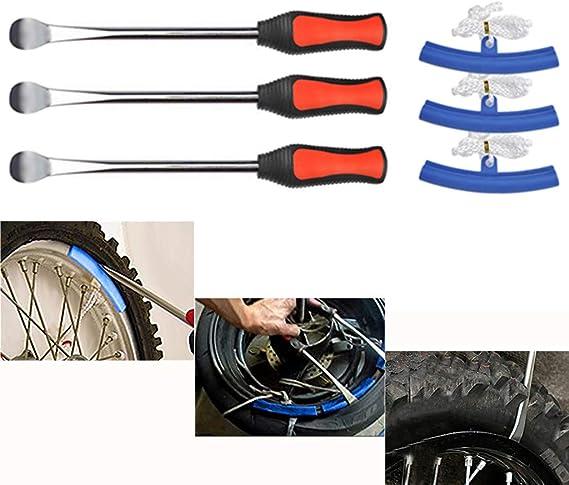 YOTINO Desmontadores de Neumático Kits 3Pcs Palanca de Neumáticos ...