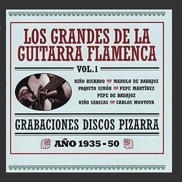 Grabaciones Discos Pizarra - Los Grandes de la Guitarra ...