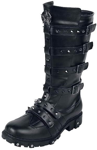 Gothicana Schwarz Stiefel Emp By Tiamat LpzMqSUVG