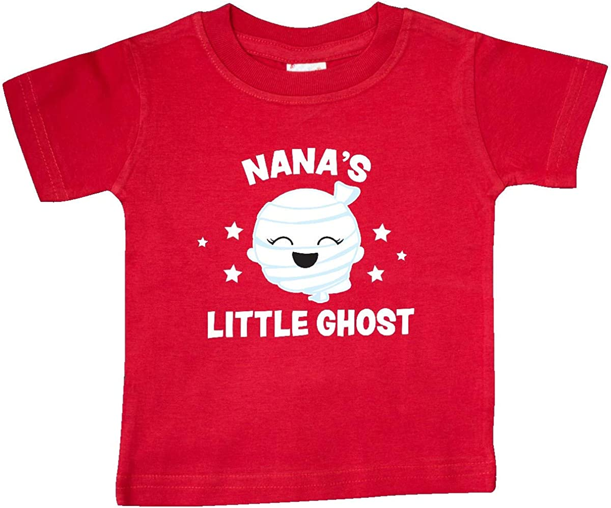 inktastic Cute Nanas Little Ghost with Stars Baby T-Shirt