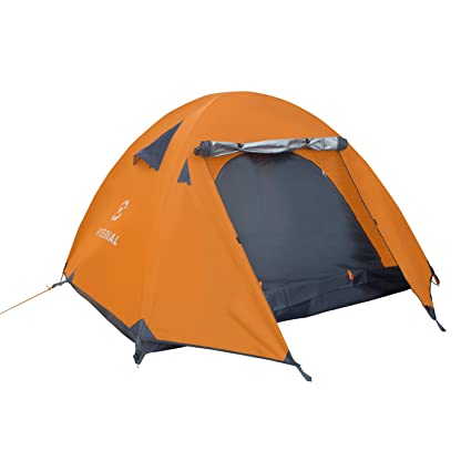 uk availability a9120 285cf Winterial 3 Person Tent, Easy Setup Lightweight Camping and Backpacking 3  Season Tent, Compact