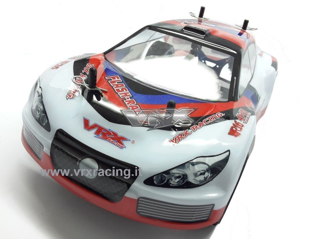 Straßen-Rally 1/16 on-road Elektro 4 WD mechanische komplett mit doppelter Rahmen aus Metall, omocinetici von serievrx