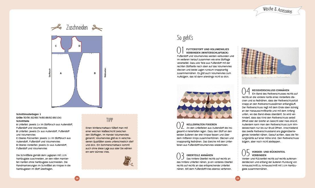 Nähen & stricken für die Kleinsten: Tolle Klamotten zum Toben ...