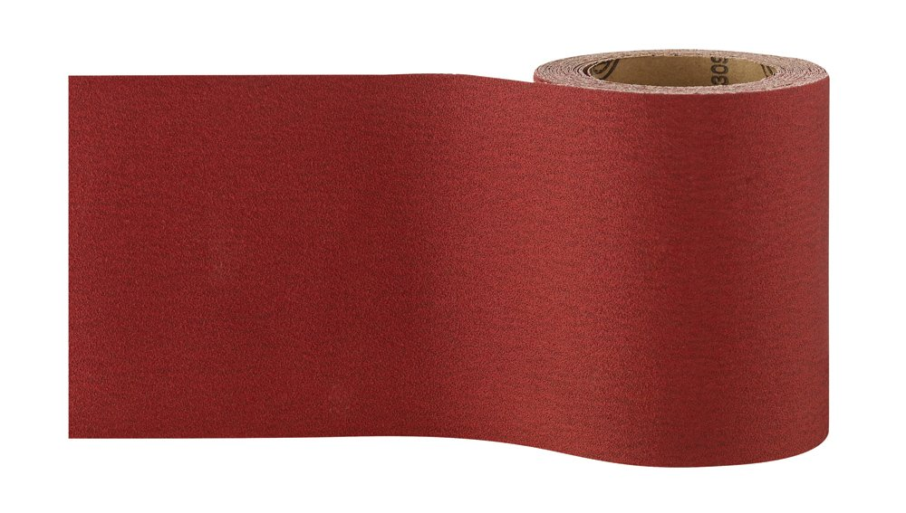 Bosch 2609256B77 Rouleau abrasif pour bois//peinture 93/mm x 5/m P180