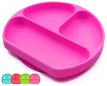 amazon com suction plates for toddlers babies silicone placemats