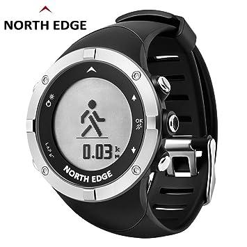Fcostume Montre Connectée de North Edge Montre,Montre Femme et Homme de Sport Intelligente GPS