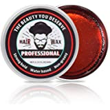 Hair Styling Wax for Men, Hair Styling Clay Hair Forming Cream Strong Hold Water Based Non-greasy 2.11FL.OZ/60g