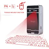 Mini Laser keyboard,atongm Official Virtual Projection Bluetooth Wireless Keyboard for iPad iPhone Android Smart Phones