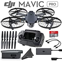 DJI Mavic Pro Cage Bundle: Includes Mavic Propeller Cage & 3 Sets of DJI 7228 Quick Release Folding Propellers and more...
