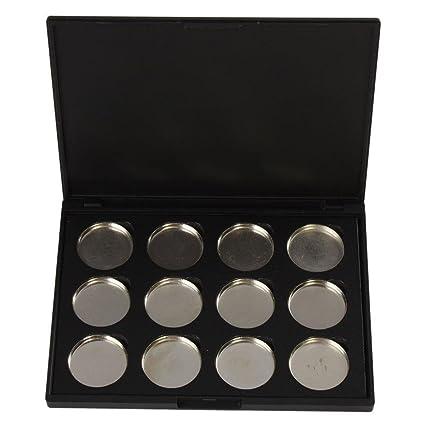 Paleta de sombra de ojos magnética vacía, VONISA para maquillaje, contenedor para cosméticos magnéticos
