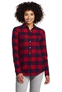 cca81fb7 Amazon.com: Pendleton Women's Petite Frankie Flannel Shirt: Clothing