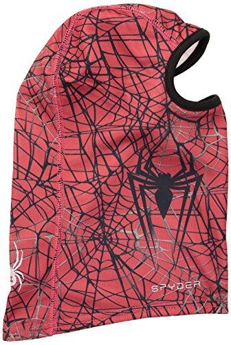 Costumes Ski Spyder - Spyder Boy's Marvel T-Hot Balaclava, Red/Spiderman,