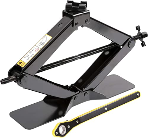 LEAD BRAND Scissor Jack is a Labor-Saving Design