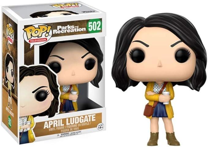 Figura Pop! Vinyl Parks and Recreation April Ludgate: Amazon ...