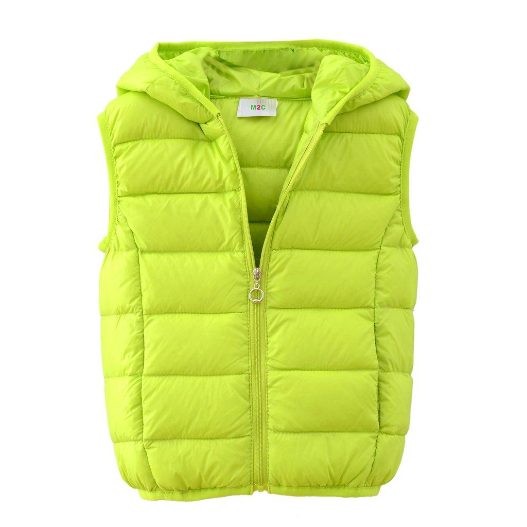 df1a1b5b9 Amazon.com  M2C Boys Girls Hooded Packable Lightweight Down Puffer ...