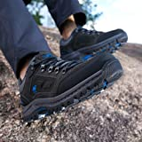 CAMEL CROWN Men's Outdoor Leather Hiking Shoes