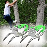 DUOSHIDA Pole Climbing Spikes, Tree Climbing Tool for Hunting Observation, Picking Fruit, Coconut, Simple to Use.