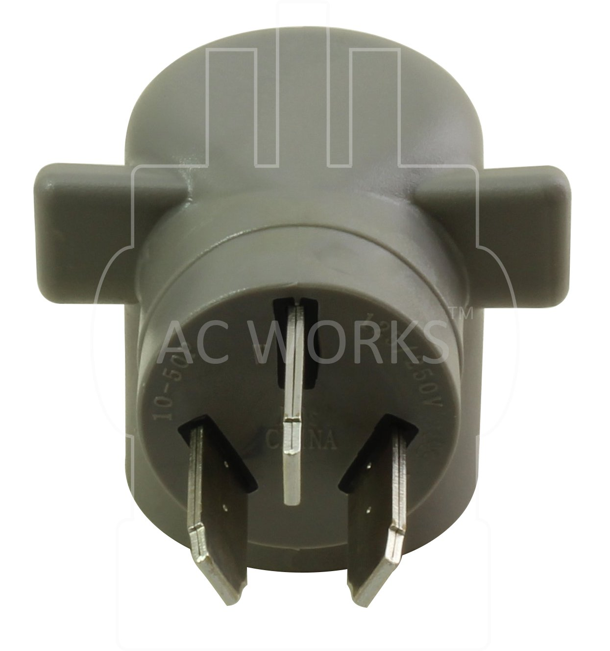 AC WORKS EV Charging Adapter for Tesla Use (10-50 50A 3-Prong Straight Blade to Tesla) by AC WORKS (Image #3)