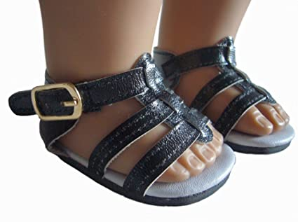bf23cbfdbf6 Image Unavailable. Image not available for. Color  Black Gladiator Sandals  ...