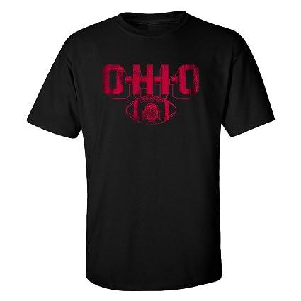 Elite Fan Shop Ohio State Buckeyes T-Shirt Vintage Football Black - M 863c6c5d6