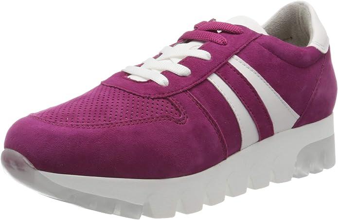 Tamaris Sneakers 23750-24 Damen Purple Lila Rot Cranberry Suede
