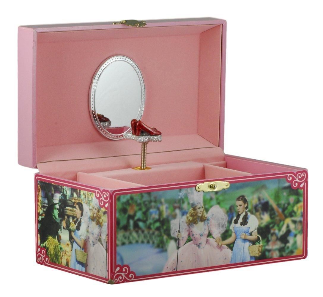 The Wizard of Oz Dorothy and Glinda Jewelry Box San Francisco Music Box