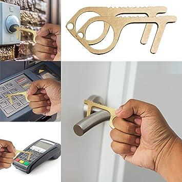 Contactless Safety Door Opener Safety Protection Door EDC Opener Key d2