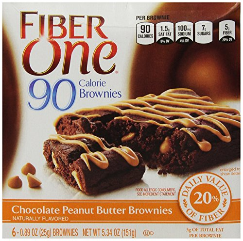 fiber-one-90-calorie-brownies-chocolate-peanut-butter-534-ounce-pack-of-4