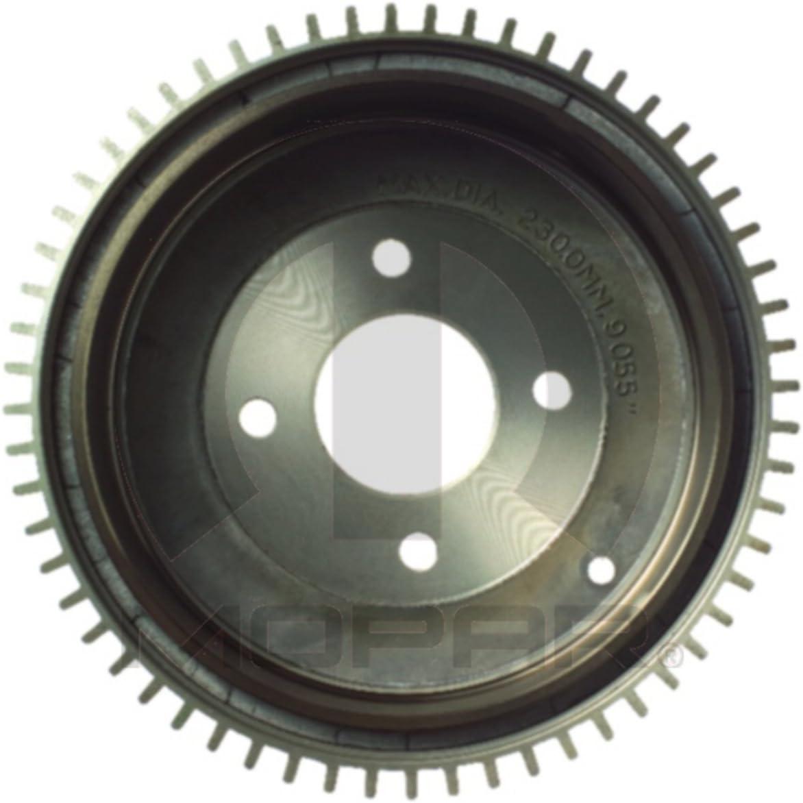 Rear Brake Drum 2PCS For 1984-1991 Honda Civic