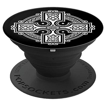 Amazoncom Celtic Cross Odins Cross Irish Popsocket Popsockets