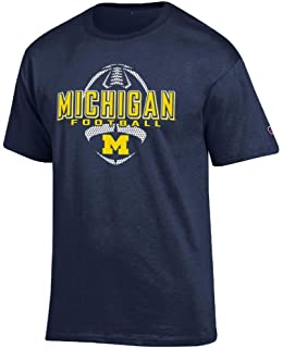 Sm-5X Maize /& Blue Til The Day Im Through Navy Shirt Smack Apparel Michigan Football Fans