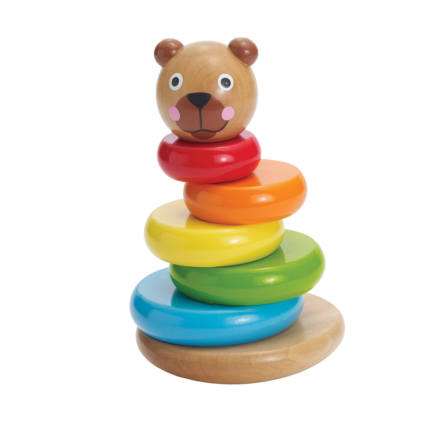 Amazon Manhattan Toy Brilliant Bear Magnetic Stack up Toys