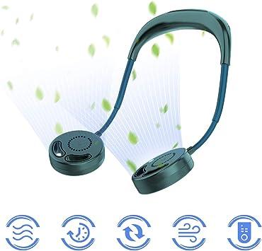 Ventilador Sin Cuchilla USB Portátil, 2020 Nuevo Mini Cuello ...