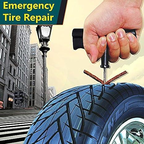 Mechas Reparapinchazos, OSAN Kit de Mecha Pinchazos para Reparación Neumáticos de Coche y Moto: Amazon.es: Coche y moto