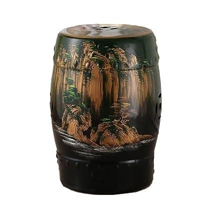 Terrific Amazon Com Aidelai Bar Stool Chair Ceramic European Hand Pabps2019 Chair Design Images Pabps2019Com