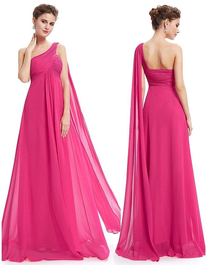 YOKA Hermosa gasa fresca Falda larga Falda larga dama de honor ...