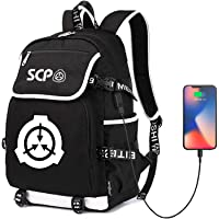 SCP Foundation Backpack School Bag for Children Students