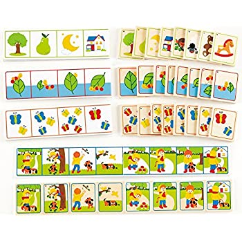 Amazon.com: Hape Theme Count Kid's Math Skills Card Game: Toys & Games