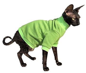 Kotomoda Ropa para Gatos Jersey de algodón Lime (L): Amazon.es: Productos para mascotas
