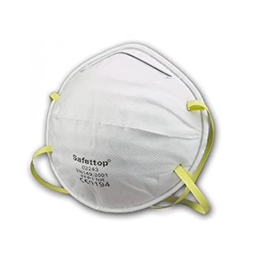 Atem-, Augen- & Gehörschutz Staubmaske 10 Stück Feinstaubmaske Atemschutzmaske Atemschutz Ffp2 En149 Neu Baugewerbe