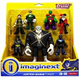 Fisher Price Imaginext Justice League 7-Pac with Exclusive Solomon Grundy DC NIP