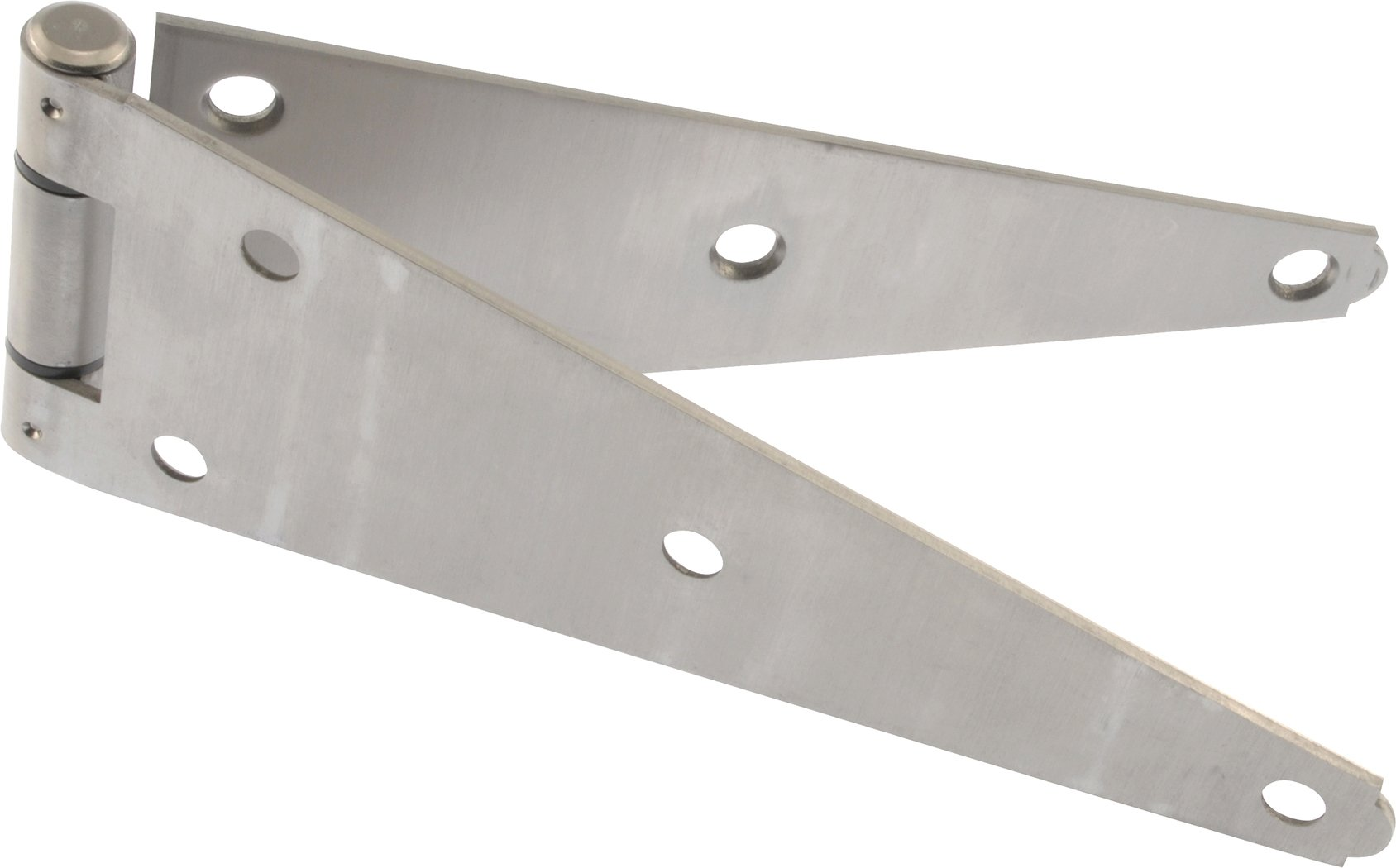 The Hillman GroupThe Hillman Group 853376 8'' Heavy Strap Hinge- Stainless Steel 1-Pack by The Hillman Group