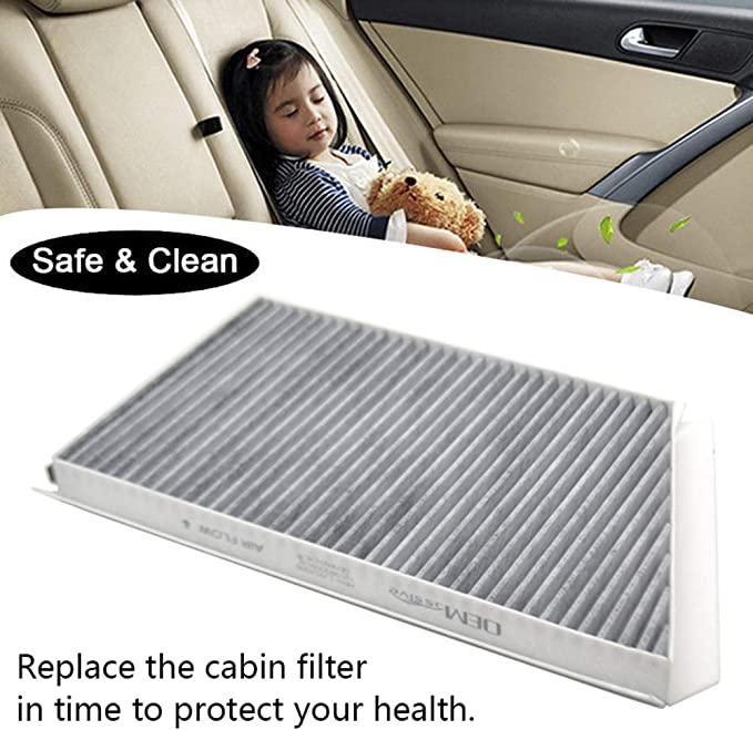 Car Pollen Cabin Air Filter Includes Activated Carbon For C-Class S202 W203 CL203 S203 CLK C209 A209 CLC-Class CL203 2038300918 2038300118
