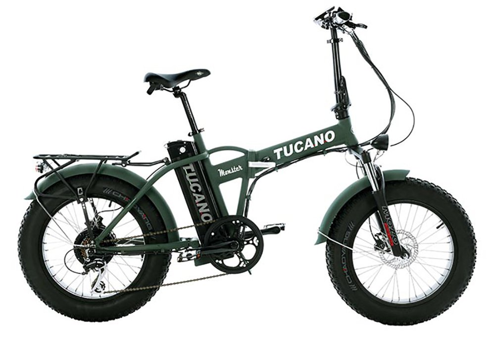 Bicicleta Eléctrica Plegable 20