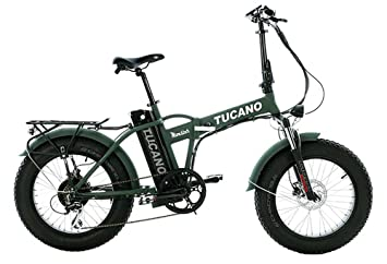 "Tucano Bikes Monster 20 Limited Edition. Bicicleta Eléctrica Plegable 20"" - Motor 500W -"