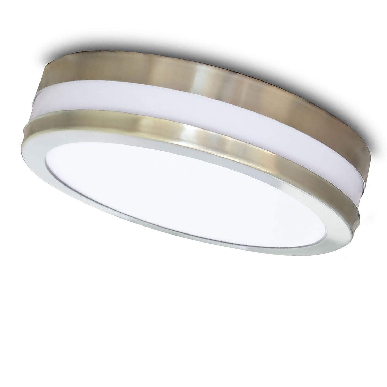Aussenleuchte Aussenlampe Wandleuchte Wandlampe Edelstahl E27 601B Maxkomfort