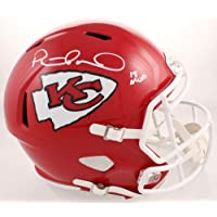 $449 » Patrick Mahomes Kansas City Chiefs Signed Autograph Speed Full Size Helmet INSCRIBED 18 MVP Steiner Sports Certified