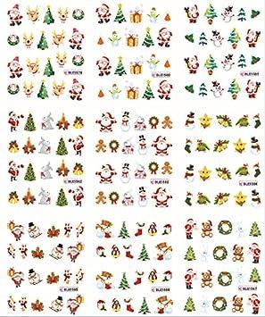 """mit Glimmer Geschenke Aufkleber Sticker /""""Nikolaus/"""" Weihnachtsmann"""